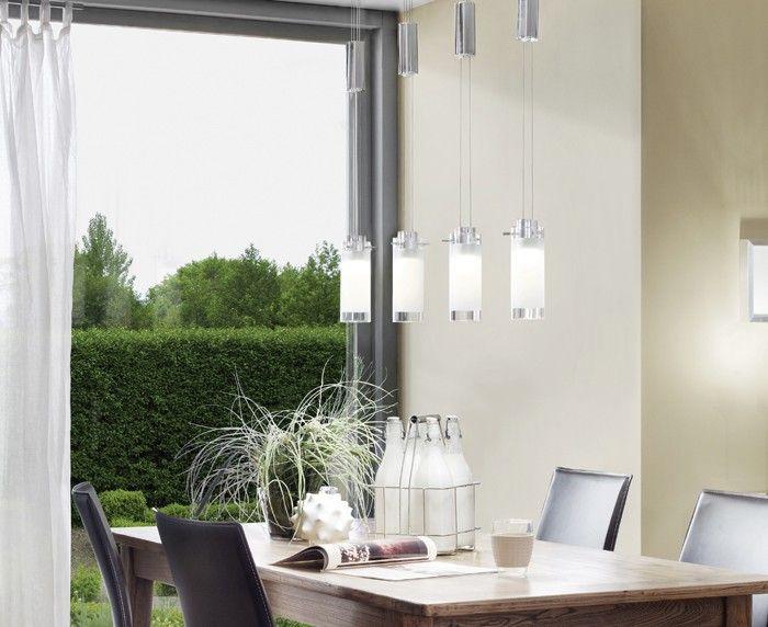 AGGIUS 4 LIGHT LED PENDANT - Pendants - Indoor Lighting