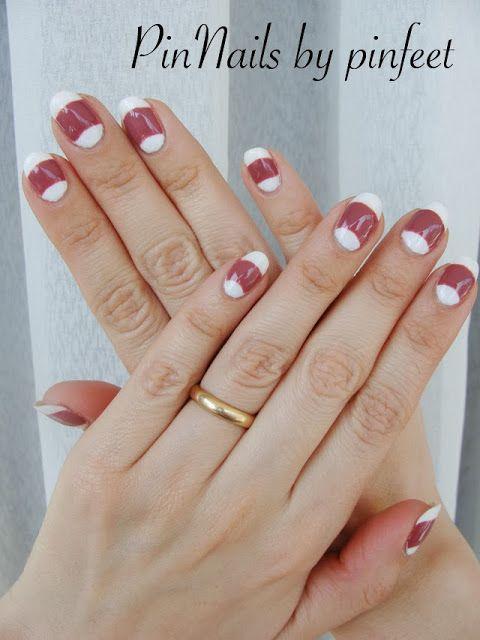 PinNails: Half Moon Vintage Nails – Uñas Media Luna