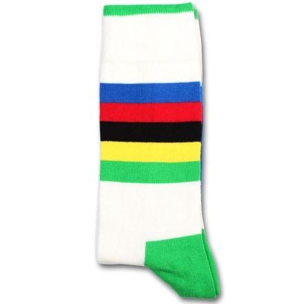 Democratique Socks Originals Bike Rainbow/Cycling World Champ