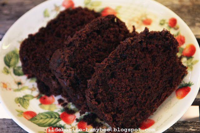 Chocolate and Courgette Supermoist Cake  Torta al Doppio Cioccolato e Zucchini