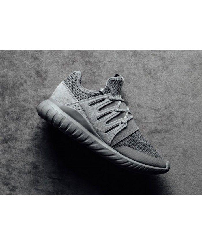 4aac9231c21f Adidas Tubular Radial Charcoal Solid Grey Shoes