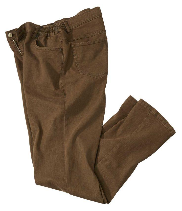 Jeans Stretch Marron #travel #voyage #atlasformen #formen #discount#shopping #ootd #outfit #western #formen #hommes #man #homme #men #quebec #été #indien #québec