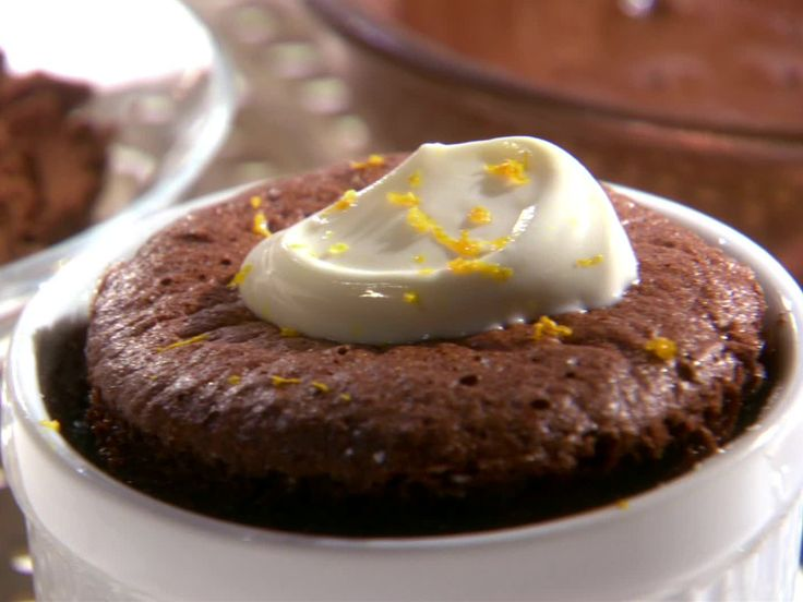 Chocolate Sponge Puddings from FoodNetwork.com-10 Dollar Dinners-Logan really wants me to make these!