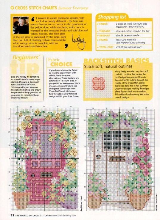 Gallery.ru / Фото #35 - The world of cross stitching 061 август 2002 - WhiteAngel