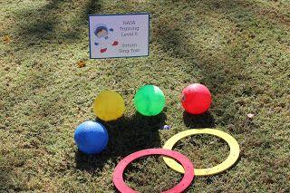 Astronaut training party activities