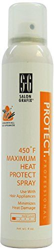 Unisex Salon Grafix Salon Grafix 450 Degree F Maximum Heat Protect Spray 1 pcs sku 1790573MA ** This is an Amazon Affiliate link. You can find more details by visiting the image link.