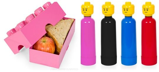 Lego Lunch Boxes and Bottles