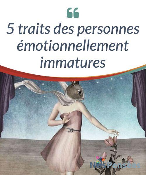 5 traits des personnes émotionnellement immatures  Les questions de maturité et #d'immaturité tiennent beaucoup du mythe. Les personnes n'admettent pas qu'on les installe dans une seule case, ni qu'on leur attribue une seule étiquette. Chacun d'entre nous est un mélange dans lequel s'entremêlent des formes de conscience #différentes. Nous sommes ignorant-e-s et sages, enfants et ancien-ne-s, puériles et #consciencieux-ses.   #Psychologie