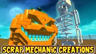 Scrap Mechanic CREATIONS! - HALLOWEEN SPECIAL!! [#15] W/AshDubh | Gameplay |