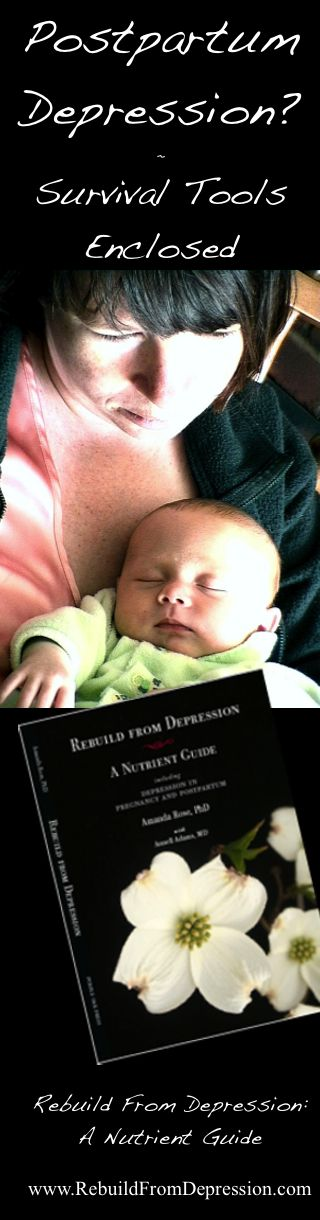 Depression In Pregnancy and Postpartum: Pregnant Again? (Survival Tools) from RebuildFromDepression.com