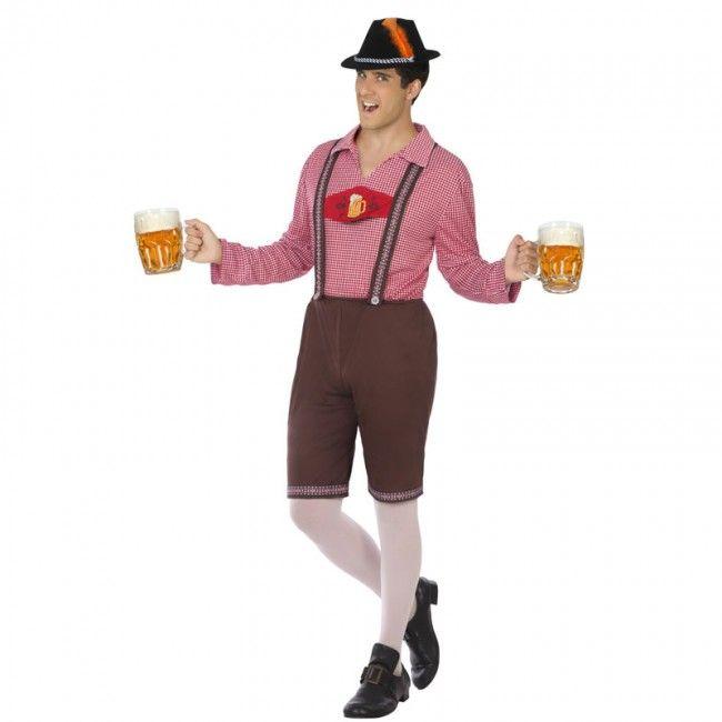 Disfraz de Bávaro Alemán Oktoberfest para hombre #disfraces #carnaval #novedades2017