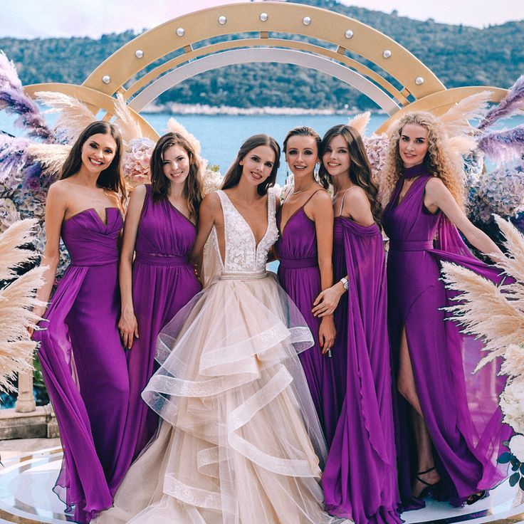 Gorgeous These Bridesmaids Dresses Totally Made Our Day And