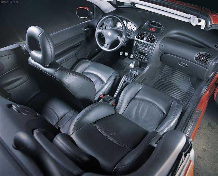 Peugeot 206 interior 2003