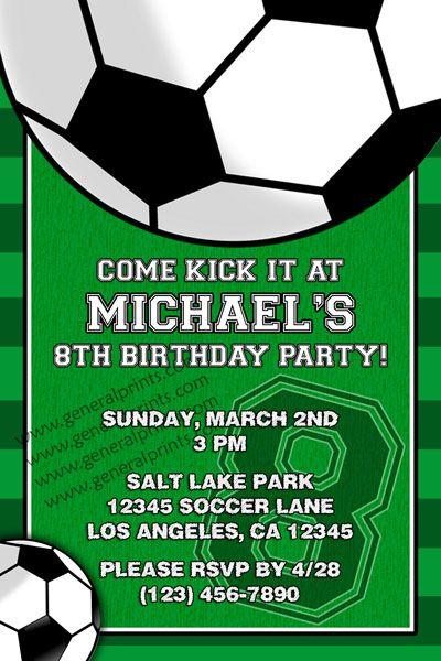 774 best Soccer party images on Pinterest Soccer party Soccer