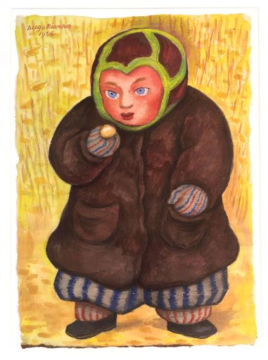 Russian Boy with Ice-Cream - Diego Rivera — Google Arts & Culture