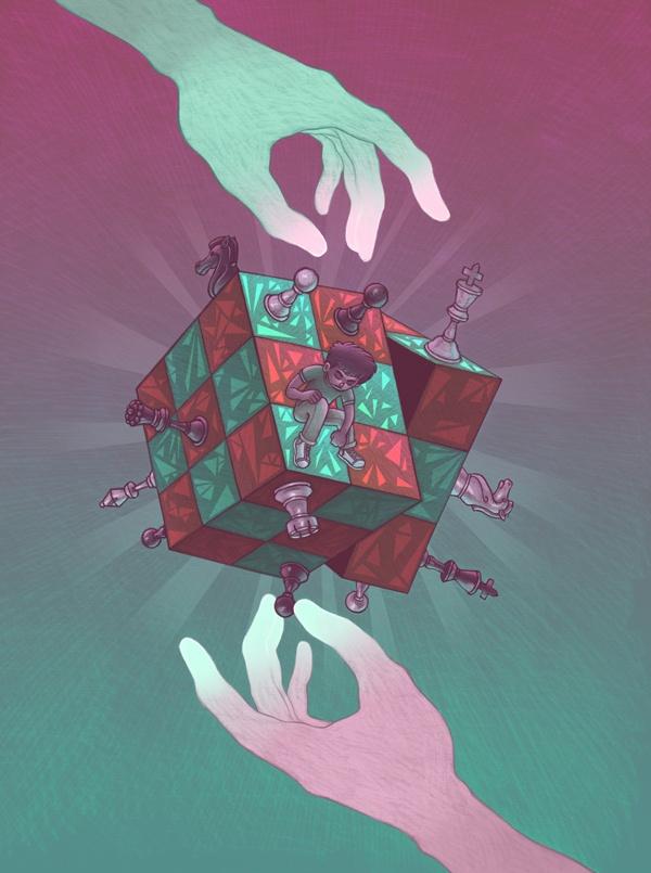 Mindgames by Miguel Co, via Behance
