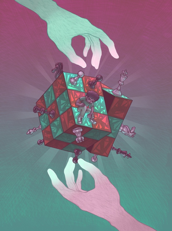 Mindgames by Miguel Co, via Behance