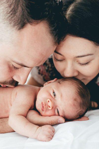 Fotos de recién nacido. Martín, con una semana de nacimiento. Bebé hermoso y …