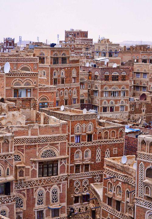 Sana'a - Yemen (von Rod Waddington)