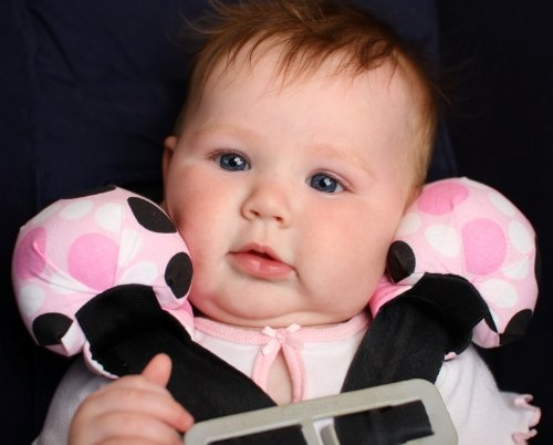 SnugZee Baby Head Support Neck Stabilizer Car Seat Pillow - Puchi $23.95