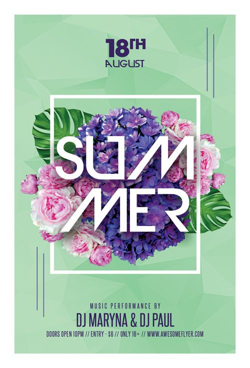 Summer Party Night Club Flyer Template - https://ffflyer.com/summer-party-night-club-flyer-template/ Enjoy downloading the Summer Party Night Club Flyer Template created by Awesomeflyer!   #Club, #Dance, #Dj, #Electro, #Event, #Indie, #Live, #Minimal, #Music, #Nightclub, #Party, #Pop, #Summer, #Techno