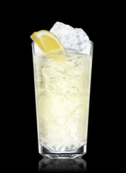 Absolut citron sling - Fill a highball glass with ice cubes. Add Absolut Citron, elderflower liqueur and lemon juice. Top up with soda water. Garnish with lemon. 2 Parts Absolut Citron, ¾ Part Elderflower Liqueur, ¾ Part Lemon Juice, Soda Water, 2 Wedges Lemon