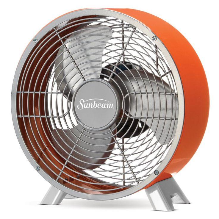Ventilateur de table Sunbeam® Série Stylée™ de couleur rétro de 9 po - Coucher de soleil