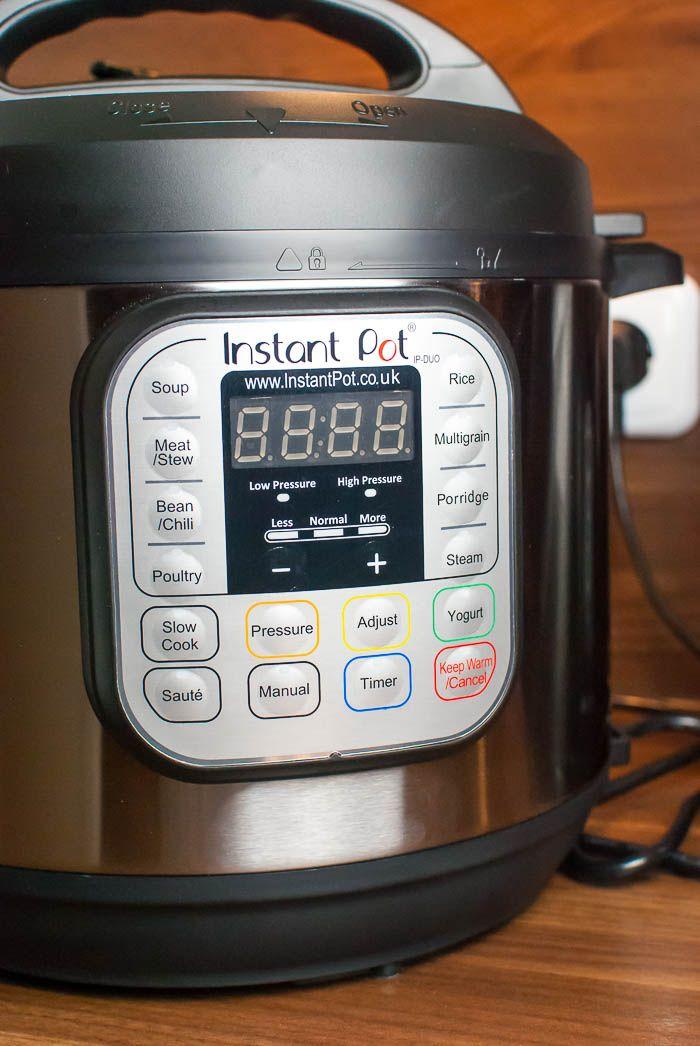 Produktrezension: Instant Pot DUO60 - Der elektrische Schnellkochtopf // 169,00 € // kaffeeundcupcakes.de