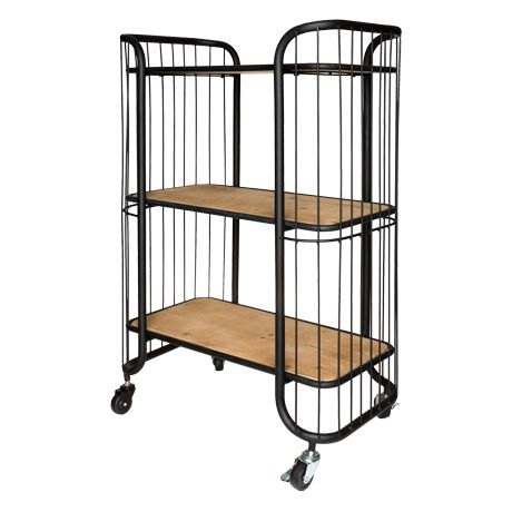 Savoy 3 Tier Kitchen Trolley