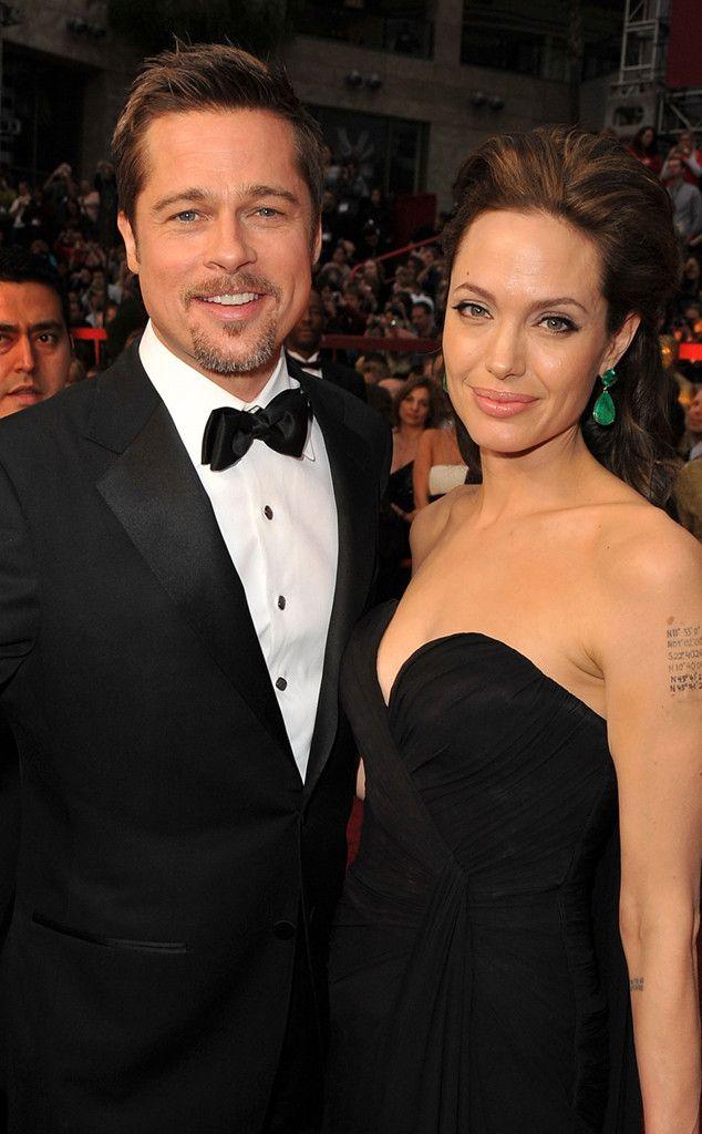Academy Awards, February 2009 from Brad Pitt & Angelina Jolie: Romance Recap | E! Online