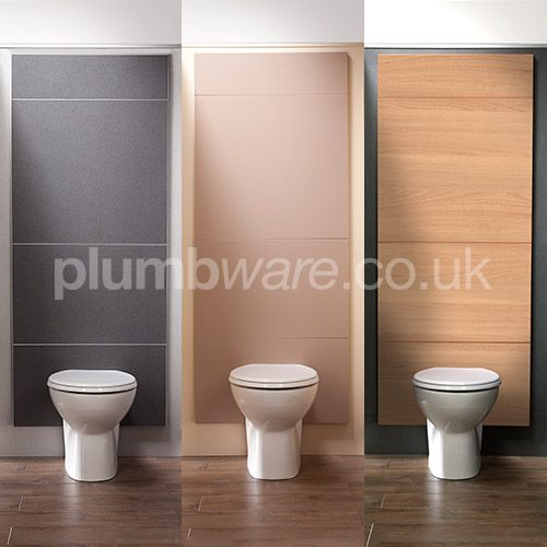 Pendle Panel System. Designed for either Urinal or WC panel configurations.