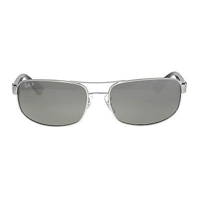 Ray-Ban Rectangle Polarized Silver Mirror Sunglasses 64 | Clothing, Shoes \u0026amp; Accessories, Men\u0026#39;s Accessories, Sunglasses \u0026amp; Fashion Eyewear | eBay!