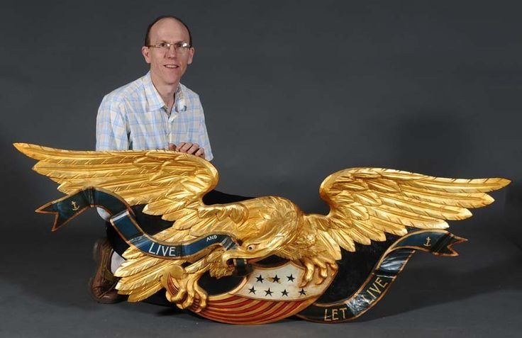 Boston Artistic Carving Company Carved Eagle 72 Quot Wide