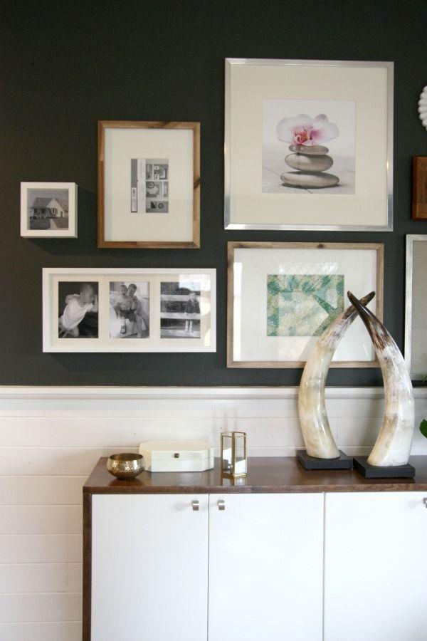 30 best Frames images on Pinterest | Picture frame, Room wall decor ...