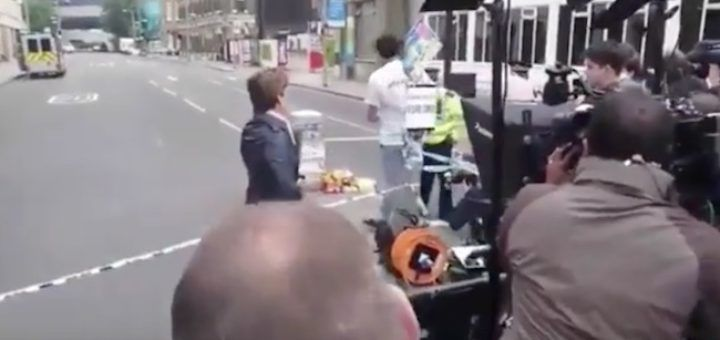 CNN Caught Staging Fake News to Show Muslim Support After London Attacks (Video)