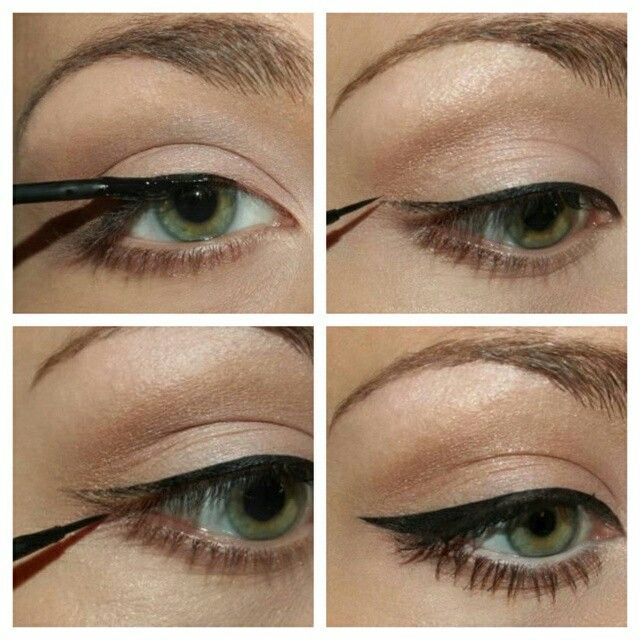 25+ best ideas about Eyeliner tutorial on Pinterest   Winged ...