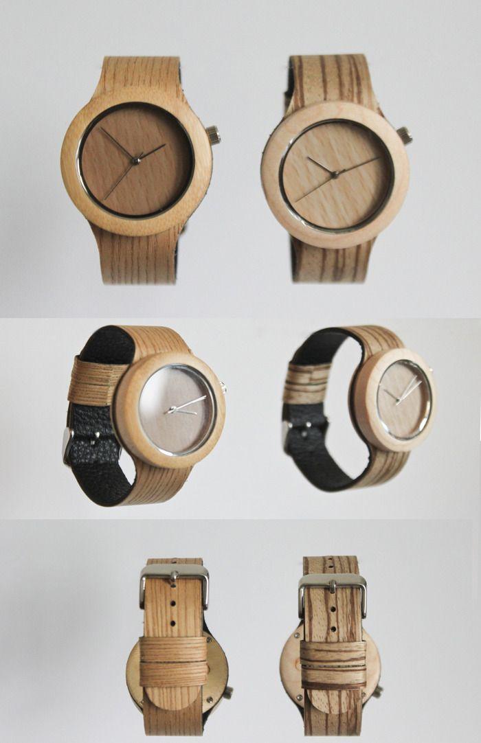 """""""The Carpenter Collection"""" la nuova collezione di orologi completamente in lengo."""