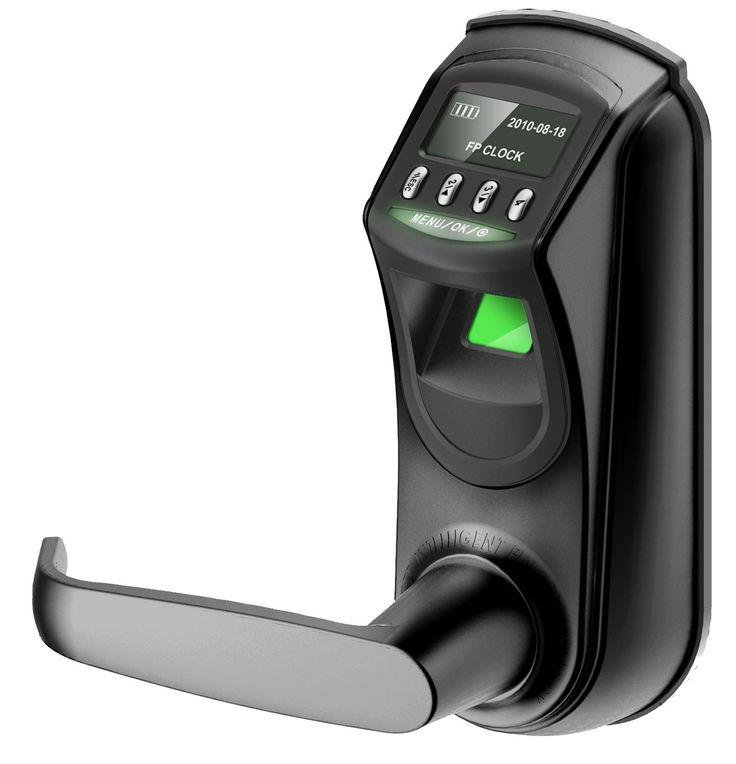 ZKTeco L7000-U OLED Display Keyless Biometric Fingerprint Door Lock Fingerprint + Password+ Key(Support Query Door Open Logs & USB Flash Disk)