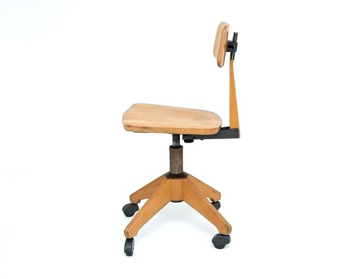 SEDUS wooden industrial office chair
