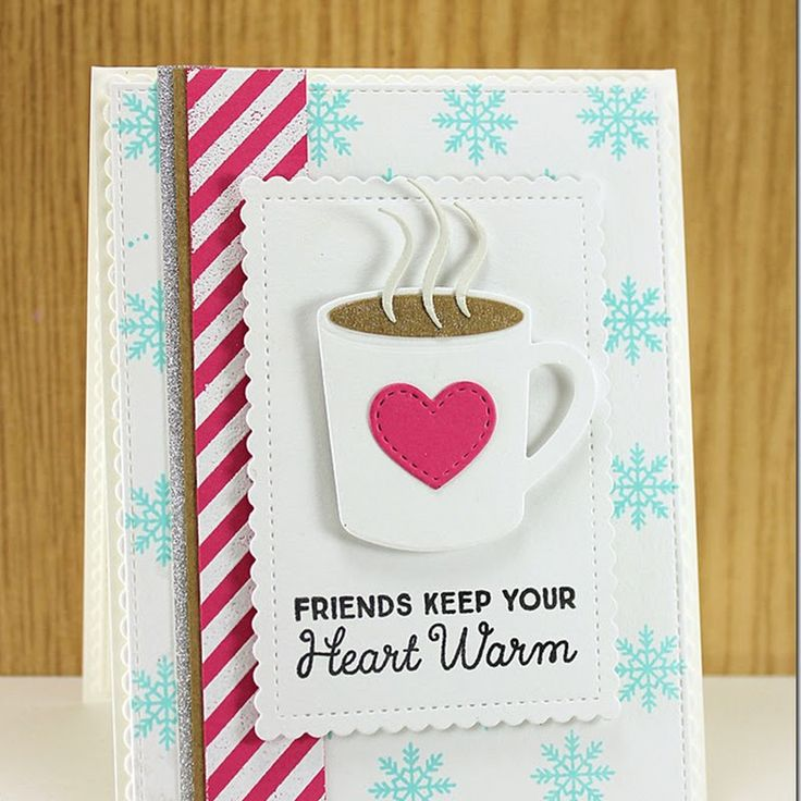 Stamping A Latte Friends Keep Your Heart