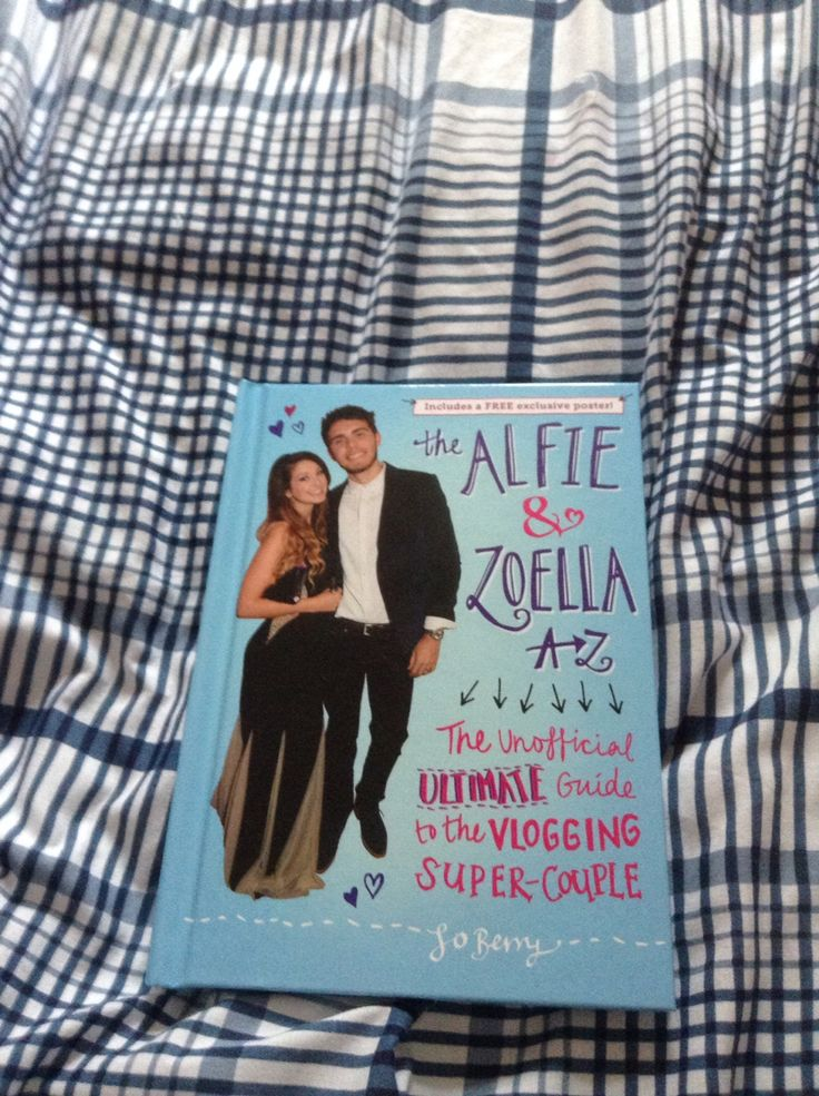 I got the Alfie and zoella book
