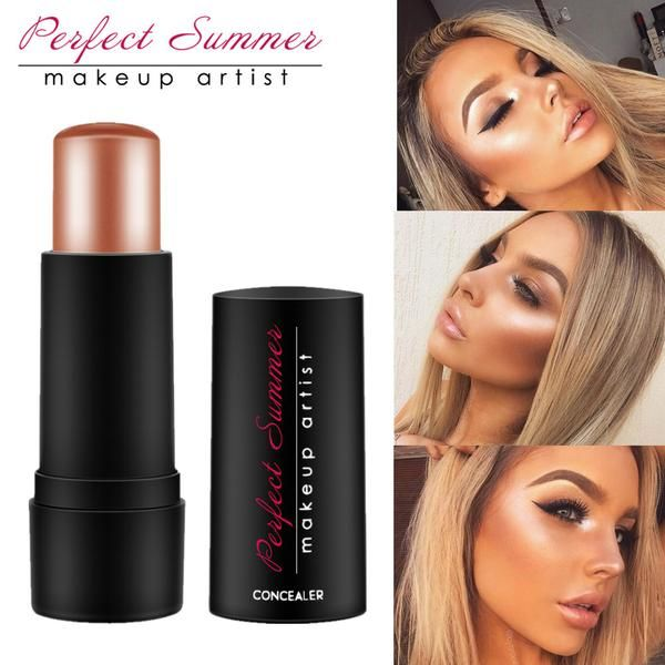 Perfect Summer Shimmer Bronzer And Highlighters Powder Makeup Conceale – On Trends Avenue
