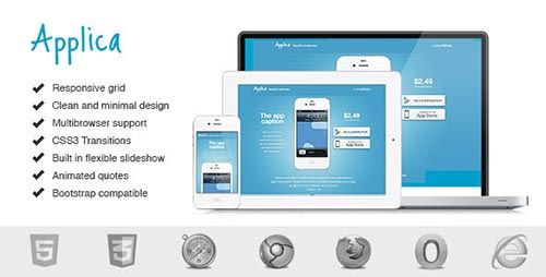 Responsive Landing Page Templates