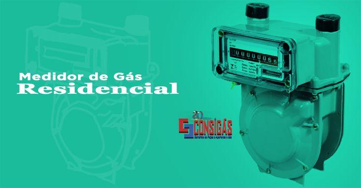#consigaspecas - Medidor de Gás Residencial, tem na www.consigaspecas.com.br