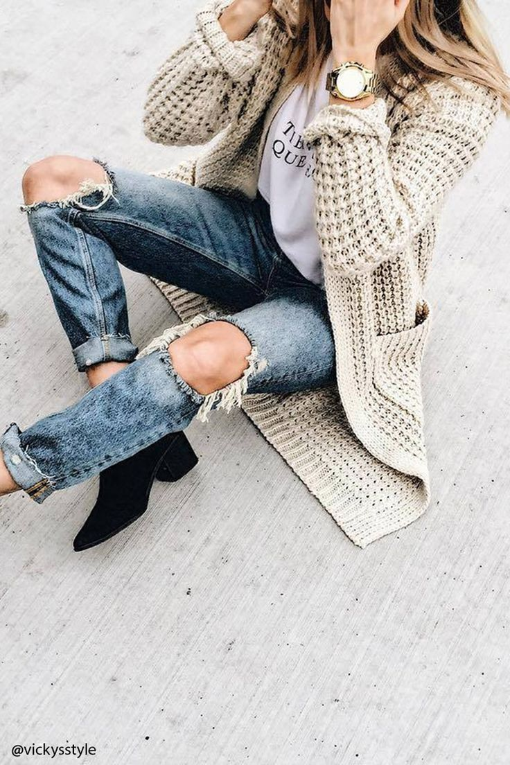 Best 25  Long knit cardigan ideas on Pinterest | Long cardigan ...