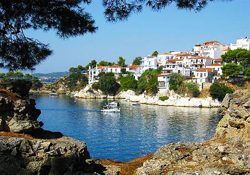 Skiathos, Greece.
