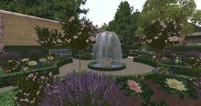 Queen's House Ornamental Kitchen Garden | My Adventures in Virtual Gardening | #SecondLife #gardening