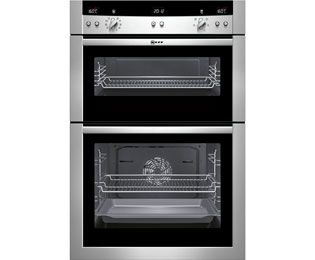 Neff Series 3 U15E52N3GB Electric Double Oven Built In Stainless SteelAppliance Online £968A+++