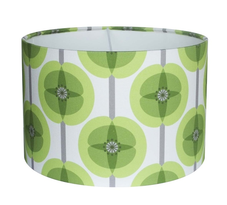Jorja Wilkinson Lampshade - Green Poppy