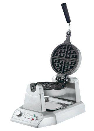 Waring Commercial WW180 Heavy-Duty Single Belgian Waffle Maker : Amazon.com : Kitchen & Dining